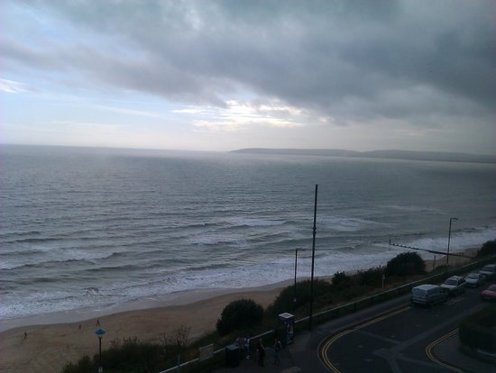 Bournemouth Highcliff Marriott Hotel: View from our window