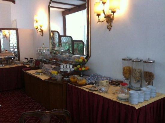 Villa Carlotta Hotel: Café da manhã