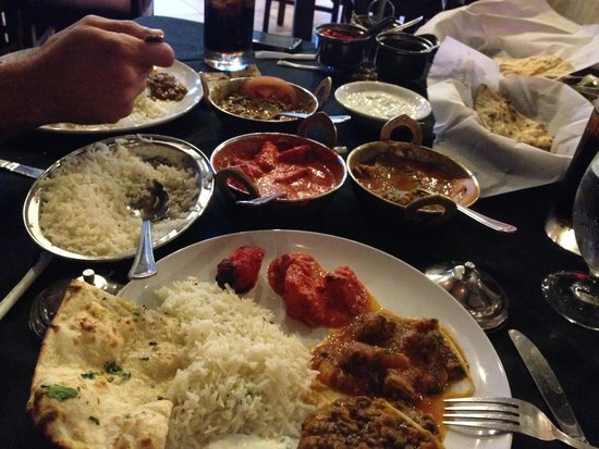 Kasturi Indian Cuisine: The Sampler!