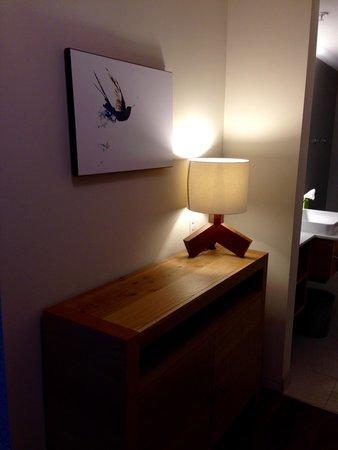 Hotel Vermont : Entryway into room