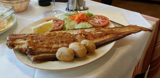 Restaurante la Puntilla Casa Menso: Atlantikseezunge