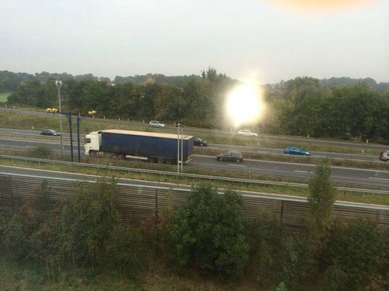 Premier Inn Cambridge (A14, J32) Hotel : view from room