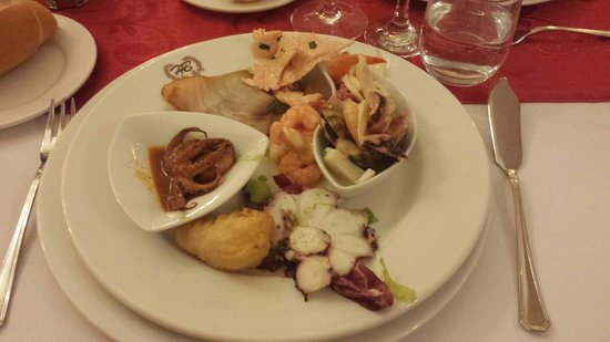 Hotel Ristorante Al Boschetto: Fantasia di Mare (18 ottobre 2014)