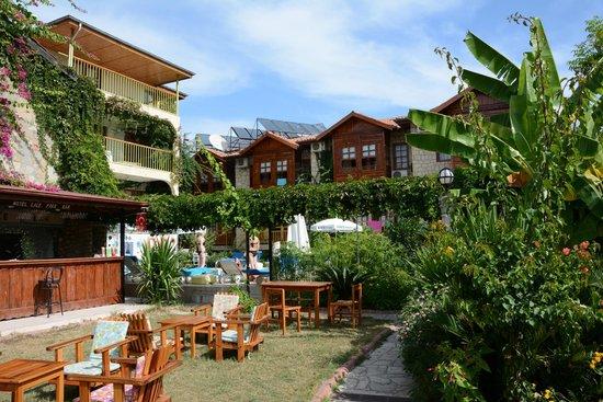 Hotel Lale Park: inner courtyard