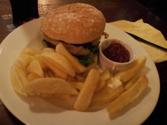 The Red Lion Inn: The Burger