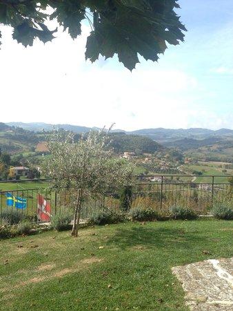 Agriturismo Castello Di San Vittorino: Panorana dagli appartamenti