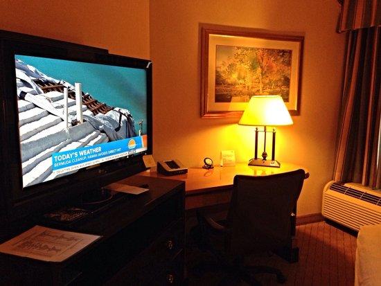 هوليداي إن آي 78 ليهاي فالي: Work corner of our room