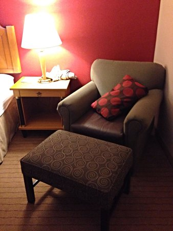 Holiday Inn Conference Center Lehigh Valley: The relaxation nook of our room