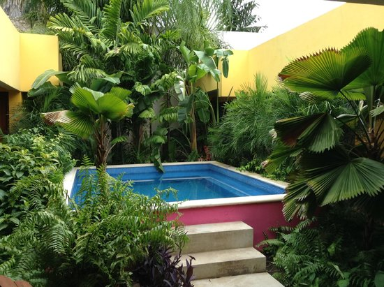 Koox Art 57 Boutique Hotel: petite pause piscine
