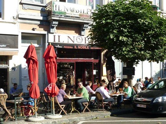 Il Nobile : Belle terrasse, bon accueil, bon restaurant!