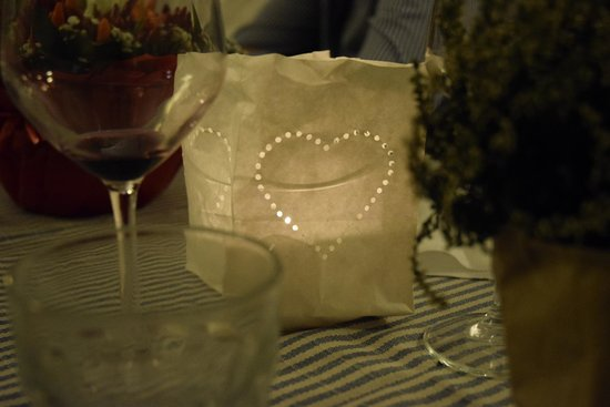 Bucavino : Sweet decorations provided by the restaurant for a special event