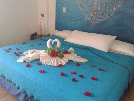 Hotel Oceano Azzurro: Decoracion de habitacion