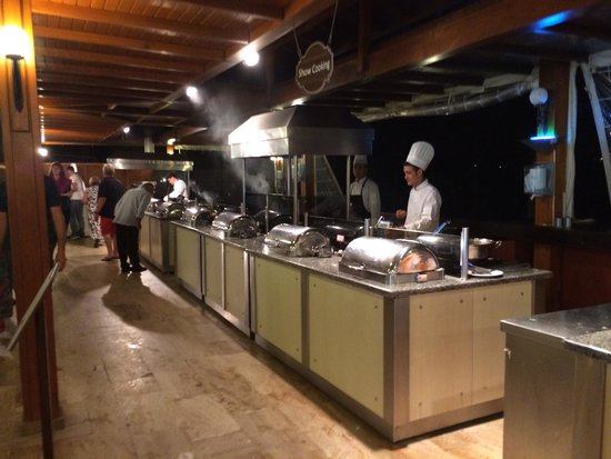 Sensimar Marmaris Imperial: Live cooking