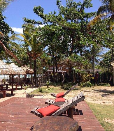 Pousada Coco Brasil: Deck do Coco Brasil