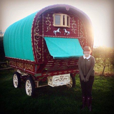 Gill Head Farm Self catering Holidays: The gypsy wagon!