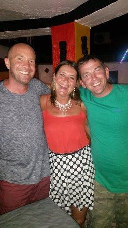 G.T.S. Bar & Restaurant : Adam, Marj, Barry