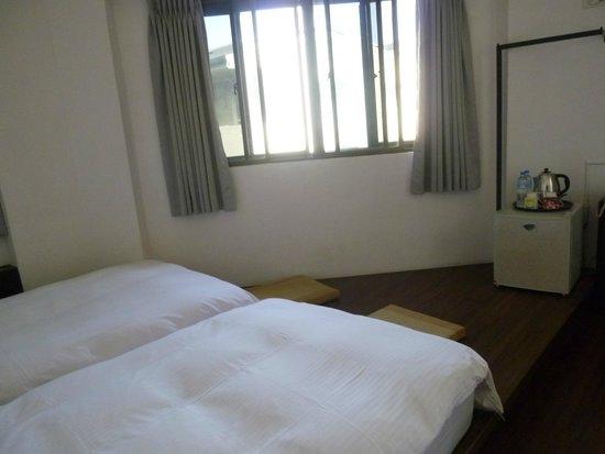 Lienfook Hostelry Hualien: 部屋に入ってすぐ見える眺め