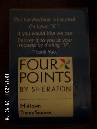 Four Points by Sheraton Midtown - Times Square : Enterance