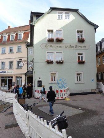 Gasthaus Zum weißen Schwan: Gasthaus Zum Weissen Schwan in Weimar