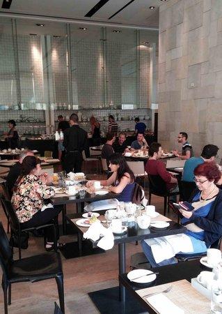 Mamilla Hotel: dining room