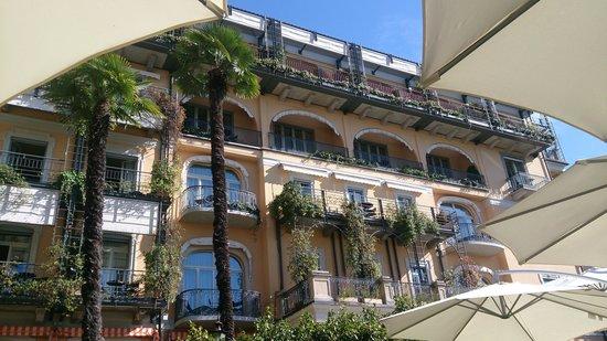 Grand Hotel Villa Castagnola: Fassade des Hotels