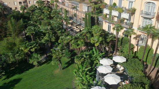 Grand Hotel Villa Castagnola: Lounge und Gartenansicht