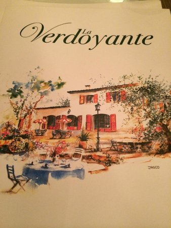 La Verdoyante: Only open if you can afford it!
