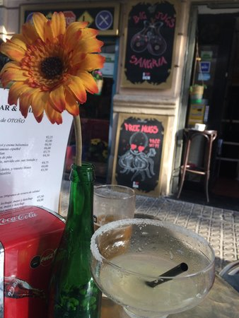 Chill Bar Barcelona: Very tasty Margarita ��