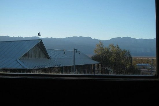 Badwater Saloon: View of part of the Inn & mountains from the windows