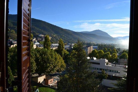 Parador de la Seu d'Urgell : Vistas desde la habitación