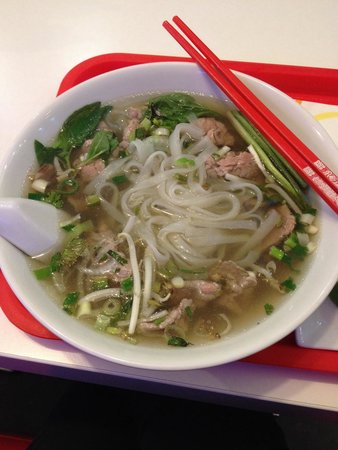PhoPho: My noodle soup.......... :)