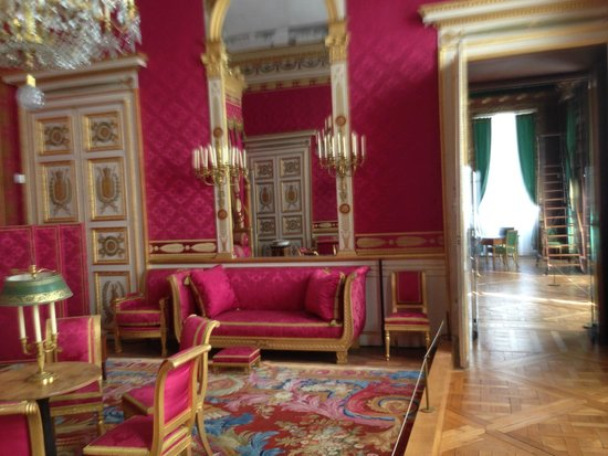 Grand salon de r ception tat restitu premier empire obr zek za zen palais de compiegne - O spa compiegne ...