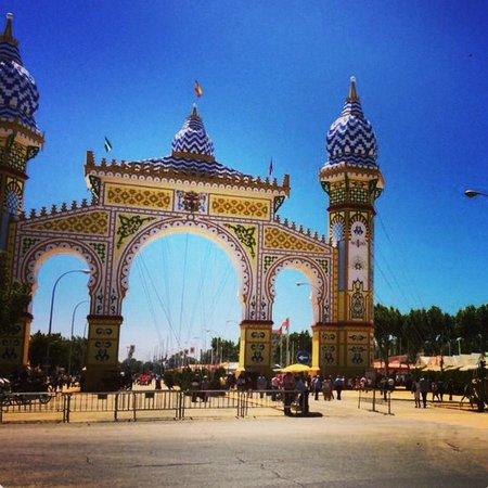 Barrio de Santa Cruz: La Feria de Abril a Siviglia 1