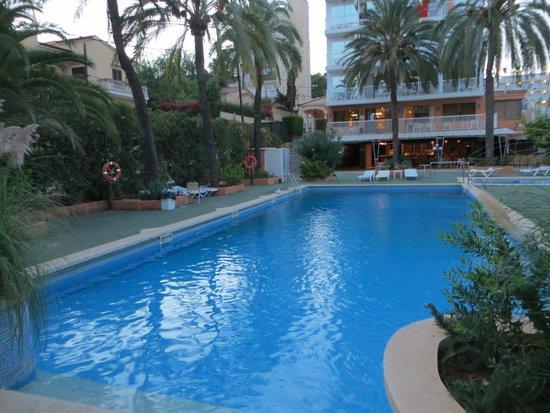Hotel Mirablau: la pileta