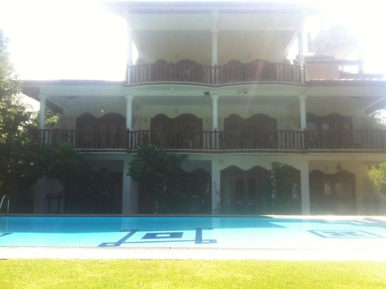 Panchi Villa: View from the pool