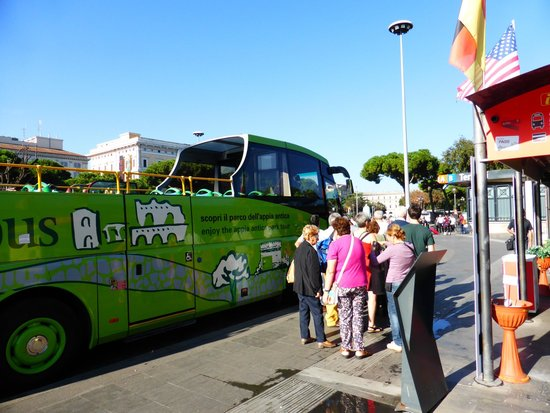 Trambus Open: Hop on at Termini Station