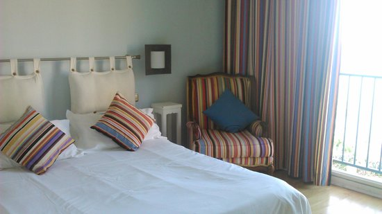 Le Bon Port: This was our room -  a delight!
