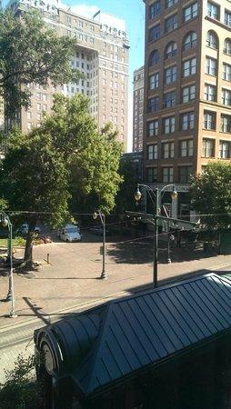 SpringHill Suites Memphis Downtown: Aussicht 3. Etage