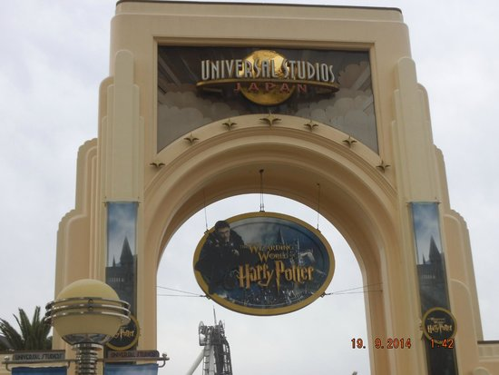 Entrance Of Park Picture Of Universal Studios Japan