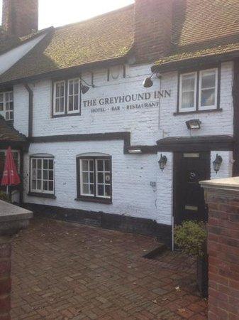 The Greyhound Inn: Outside