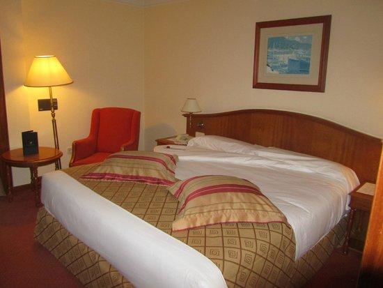 Hotel Hoyuela: Habitación