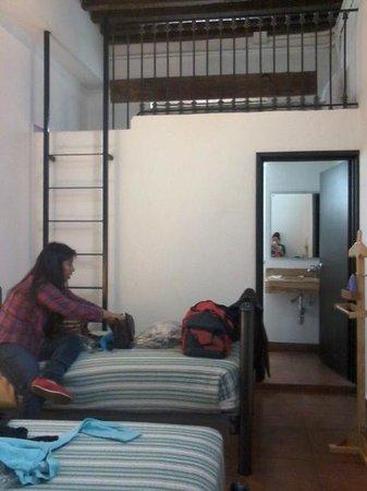 Mexico City Hostel: Habitación para dos personas con baño privado