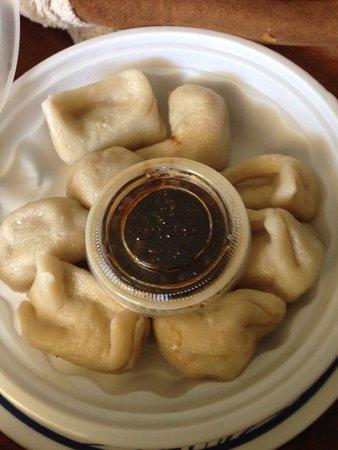 Asian Cafe: Steamed dumplings - very good