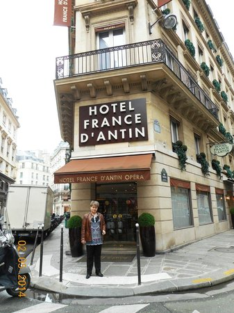 Hotel France d'Antin: у отеля