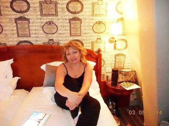 Hotel France d'Antin: в номере
