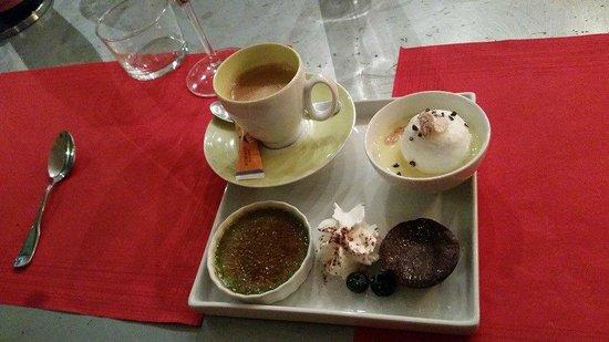 LE CAVISTE BIO : Our dessert plate.