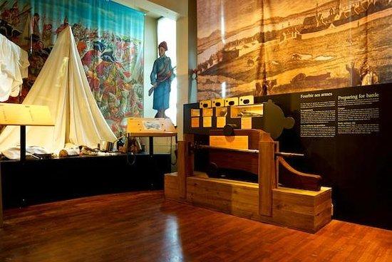 Battlefields Park (Parc des Champs-de-Bataille) : Museum at Discovery Pavilion of the Plains of Abraham