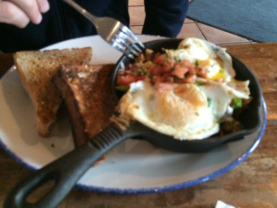 Amsterdam: Bacon Breakfast Skillet