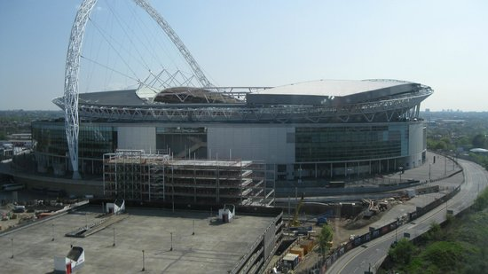 Ibis London Wembley: The Wembley Stadium from my window during the day