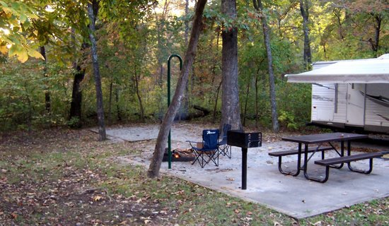 Withrow Springs State Park: Site 8